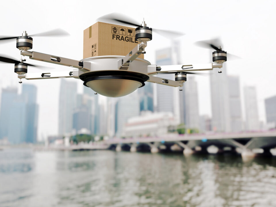 drone project delivery